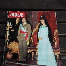 Coleccionismo de Revista Hola: REVISTA HOLA AÑO 1975-HOMENAJE A LOS REYES DE ESPAÑA. Lote 37656274