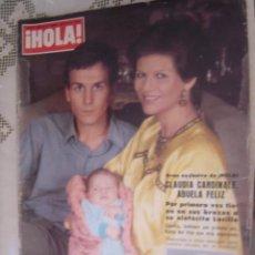 Coleccionismo de Revista Hola: REVISTA HOLA AÑO 1979 Nº1808,CLAUDIA CARDINALE,BODA DE JACINTE GISCARD D´ESTAING.. Lote 37662534