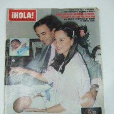 Coleccionismo de Revista Hola: REVISTA HOLA - 1981 - ISABEL PREYSLER - TAMARA - CARLOS FALCO - JULIO IGLESIAS - GRIÑON - KENNEDY. Lote 37683005
