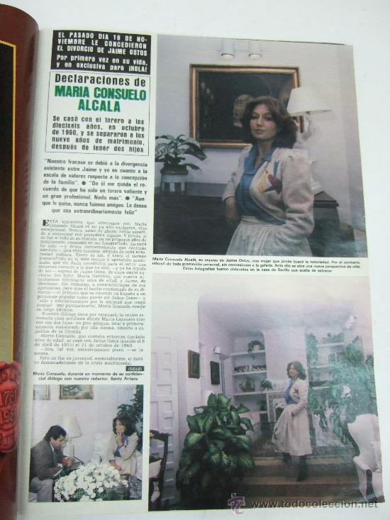 Coleccionismo de Revista Hola: REVISTA HOLA - 1981 - ISABEL PREYSLER - TAMARA - CARLOS FALCO - JULIO IGLESIAS - GRIÑON - KENNEDY - Foto 4 - 37683005