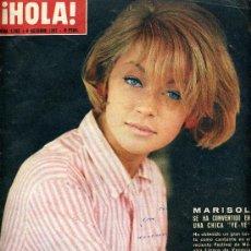 Coleccionismo de Revista Hola: MARISOL. REVISTA HOLA.. Lote 37745762