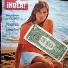 Coleccionismo de Revista Hola: REVISTA HOLA / FRANCOISE HARDY, IRA FURSTENBERG, GRACE KELLY, AUDREY HEPBURN. Lote 38081848