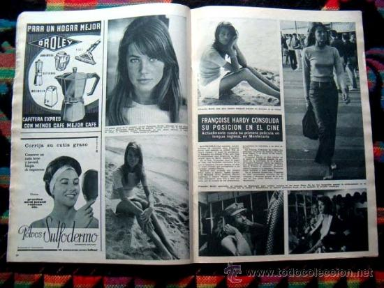Coleccionismo de Revista Hola: Revista HOLA / FRANCOISE HARDY, IRA FURSTENBERG, GRACE KELLY, AUDREY HEPBURN - Foto 2 - 38081848