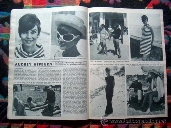 Coleccionismo de Revista Hola: Revista HOLA / FRANCOISE HARDY, IRA FURSTENBERG, GRACE KELLY, AUDREY HEPBURN - Foto 3 - 38081848