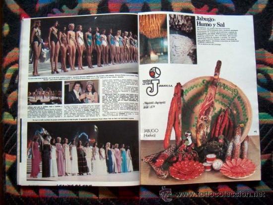 Coleccionismo de Revista Hola: Revista HOLA / MISS MUNDO, WORLD, MISS INTERNACIONAL, FARRAH FAWCETT, LILLI CARATI, SHAUN CASSIDY - Foto 3 - 227488905