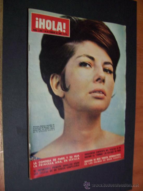 ! HOLA ¡ Nº 1069 - 20 FEBRERO 1965 - 8 PTS (Coleccionismo - Revistas y Periódicos Modernos (a partir de 1.940) - Revista Hola)