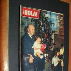 Coleccionismo de Revista Hola: ! HOLA ¡ Nº 1063 - 9 ENERO 1965 - 8 PTS. Lote 38129046
