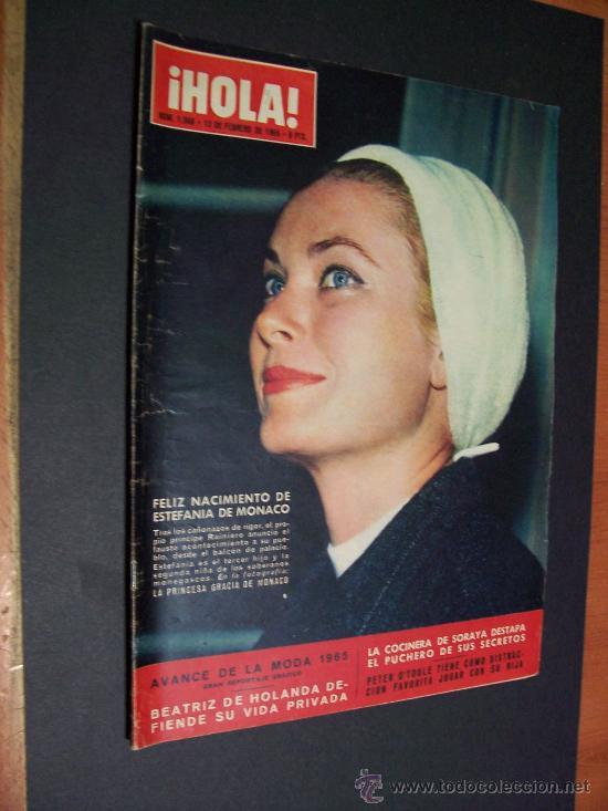 ! HOLA ¡ Nº 1068 - 13 FEBRERO 1965 - 8 PTS (Coleccionismo - Revistas y Periódicos Modernos (a partir de 1.940) - Revista Hola)