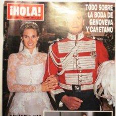 Coleccionismo de Revista Hola: HOLA - REVISTA Nº 3195 - OCTUBRE 2005. Lote 38378501