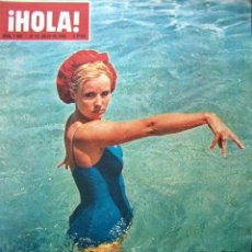 Coleccionismo de Revista Hola: REVISTA HOLA / MISS UNIVERSO 1965, REYES DE ESPAÑA, FARAH DIBA, OLIVIA DE HAVILAND, MONACO, UNIVERSE. Lote 44291518
