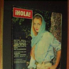 Coleccionismo de Revista Hola: ¡ HOLA ! Nº 1138 - 18 JUNIO 1966 - 8 PTS.. Lote 38563708