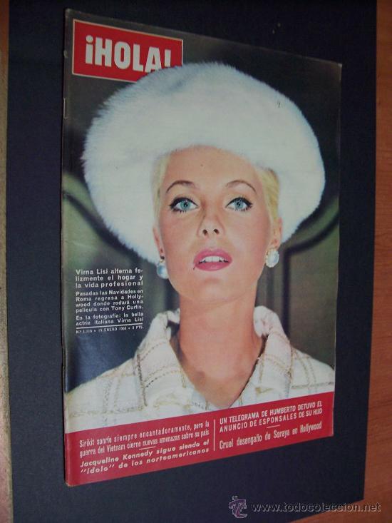 ¡ HOLA ! Nº 1116 - 15 ENERO 1966 - 8 PTS. (Coleccionismo - Revistas y Periódicos Modernos (a partir de 1.940) - Revista Hola)