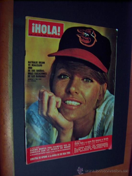 ¡ HOLA ! Nº 1391 - 24 ABRIL 1971 - 12 PTS. (Coleccionismo - Revistas y Periódicos Modernos (a partir de 1.940) - Revista Hola)