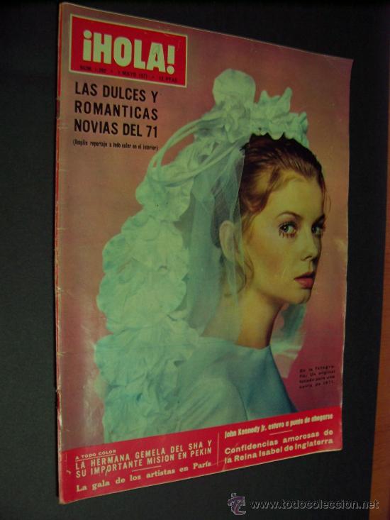 ¡ HOLA ! Nº 1392 - 1 MAYO 1971 - 12 PTS. (Coleccionismo - Revistas y Periódicos Modernos (a partir de 1.940) - Revista Hola)