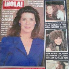 Coleccionismo de Revista Hola: REVISTA HOLA Nº 3217 - 29 MARZO 2006 -- LA NUEVA CAROLINA --. Lote 38756584