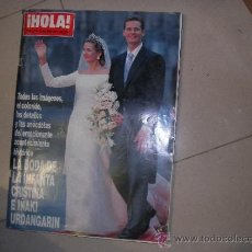 Coleccionismo de Revista Hola: HOLA AÑO 1997 BODA REAL INFANTA CRISTINA IÑAKI URDANGARIN . Lote 38974542