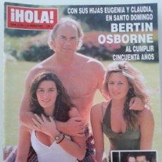 Coleccionismo de Revista Hola: REVISTA HOLA Nº 3154 - 13 ENERO 2005 -- BERTIN OSBORNE --. Lote 39071198