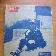 Coleccionismo de Revista Hola: REVISTA HOLA 911, FEBRERO 1962: CLAUDIA CARDINALE, FABIOLA, YVES SAINT-LAURENT, BRIGITTE BARDOT. Lote 39393656