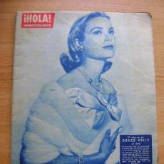 Coleccionismo de Revista Hola: REVISTA HOLA 917, MARZO 1962: GRACE KELLY, JACQUELINE KENNEDY. Lote 39393722