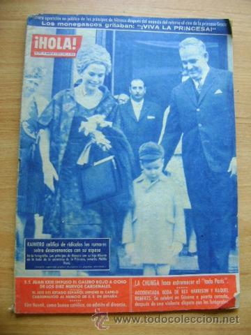 REVISTA HOLA 918, ABRIL 1962: KIM NOVAK, JACQUELINE KENNEDY (Coleccionismo - Revistas y Periódicos Modernos (a partir de 1.940) - Revista Hola)