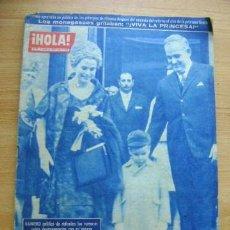 Coleccionismo de Revista Hola: REVISTA HOLA 918, ABRIL 1962: KIM NOVAK, JACQUELINE KENNEDY. Lote 39393740