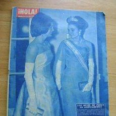 Coleccionismo de Revista Hola: REVISTA HOLA 921, ABRIL 1962: SOFIA LOREN, RICHARD BURTON, INGRID BERGMAN, LOLA FLORES. Lote 39393780