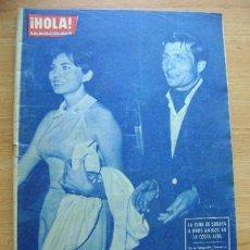 Coleccionismo de Revista Hola: REVISTA HOLA 938, AGOSTO 1962: JOHNNY HALLYDAY, ROMY SCHNEIDER, SORAYA. Lote 39393920