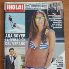 Coleccionismo de Revista Hola: REVISTA HOLA Nº 3601 AGOSTO 2013 - ANA BOYER. Lote 39448904