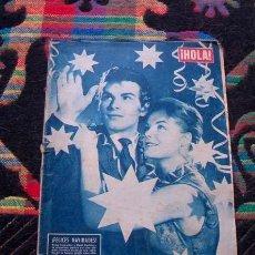 Coleccionismo de Revista Hola: REVISTA HOLA 1957 / ROMY SCHNEIDER, HORST BUCHHOLZ, SALVADOR DALI, DOROTHY MALONE. Lote 39969116