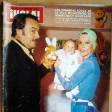 Coleccionismo de Revista Hola: ¡HOLA! Nº1635-AÑO 27/12/75-LOS REYES DE ESPAÑA Y SUS HIJOS-GRACIA DE MONACO Y SU HIJA-FRANK SINATRA. Lote 40062879