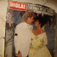 Coleccionismo de Revista Hola: REVISTA HOLA LIZ TAYLOR BODA. Lote 40236611