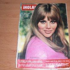 Coleccionismo de Revista Hola: REVISTA HOLA Nº 1251 17 DE AGOSTO DE 1968. Lote 40377863