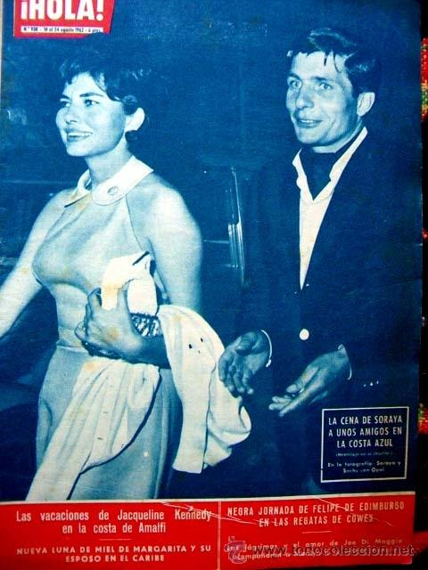 REVISTA HOLA 1962 / MARILYN MONROE, ROMY SCHNEIDER, PRINCESS SORAYA, JACQUELINE KENNEDY (Coleccionismo - Revistas y Periódicos Modernos (a partir de 1.940) - Revista Hola)