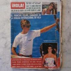 Collectionnisme de Magazine Hola: HOLA,ISABEL PREYSLER-CAROLINA Y STEFANO-VAITIARE-PRINCIPE FELIPE-ROCIO DURCAL-PACO OJEDA-. Lote 41397225