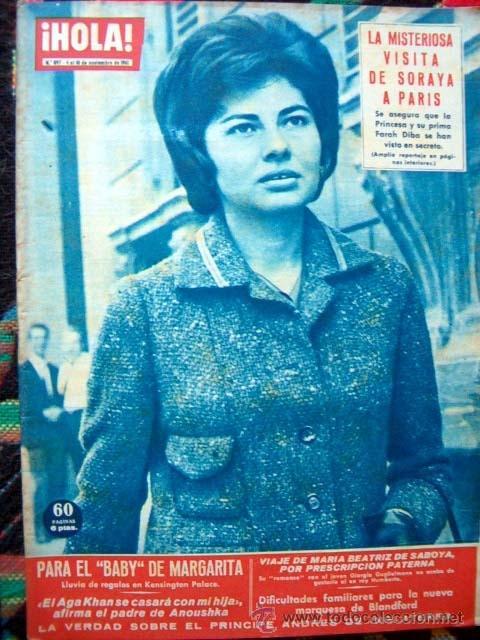 REVISTA HOLA 1961 / JAYNE MANSFIELD, PRINCESS SORAYA, KARIM AGA KHAN, MICHAEL TELLIN (Coleccionismo - Revistas y Periódicos Modernos (a partir de 1.940) - Revista Hola)