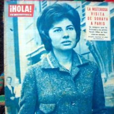 Coleccionismo de Revista Hola: REVISTA HOLA 1961 / JAYNE MANSFIELD, PRINCESS SORAYA, KARIM AGA KHAN, MICHAEL TELLIN. Lote 41458596