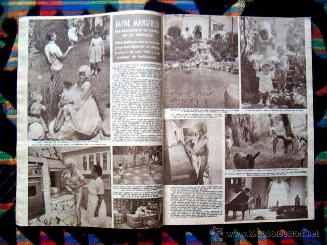 Coleccionismo de Revista Hola: Revista HOLA 1961 / JAYNE MANSFIELD, PRINCESS SORAYA, KARIM AGA KHAN, MICHAEL TELLIN - Foto 2 - 41458596