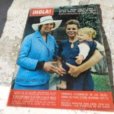 Coleccionismo de Revista Hola: REVISTA ¡HOLA! NUM 1406 7 AGOSTO 1971 R-260. Lote 41706252