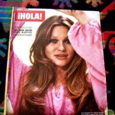 Coleccionismo de Revista Hola: REVISTA HOLA / MARISOL, PEPA FLORES, NATHALIE DELON, ELIZABETH TAYLOR, CHARLES BRONSON, RYAN O'NEAL. Lote 41886957