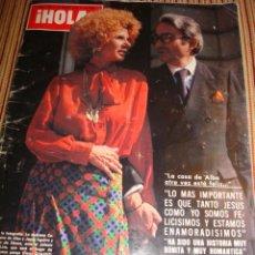 Coleccionismo de Revista Hola: ANGELA MOLINA- CURRO JIMENEZ- MARIA JOSE CANTUDO- CAROLINA DE MONACO.. Lote 42302234