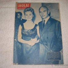 Coleccionismo de Revista Hola: HOLA ! N° 802 YUL BRYNNER . ENERO 1960. Lote 42341264