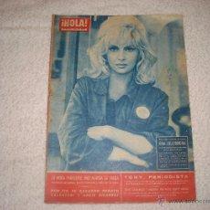 Coleccionismo de Revista Hola: GINA LOLLOBRIGIDA ENERO 1962. Lote 42341424