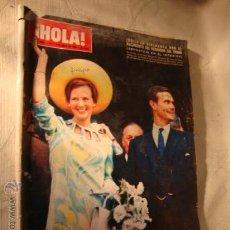 Coleccionismo de Revista Hola: REVISTA HOLA Nº 1.241 AÑO 1968 , EN PORTADA MARGARITA DE DINAMARCA, SOFIA LOREN, PAOLA DOMINGUIN.... Lote 28572662