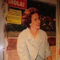 Coleccionismo de Revista Hola: REVISTA HOLA Nº 1024- 1964. EN PORTADA: LA REINA FABIOLA. Lote 3695404