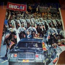 Coleccionismo de Revista Hola: REVISTA HOLA NUMERO 1363.10 OCTUBRE 1970 NIXON. Lote 42701159