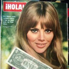 Coleccionismo de Revista Hola: HOLA / BRITT EKLAND, DANIELA BIANCHI, BRIGITTE BARDOT, JULIE ANDREWS, LIZ TAYLOR, GRACE KELLY. Lote 42893317