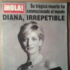 Coleccionismo de Revista Hola: HOLA Nº 2770 11/09/1997*ESPECTACULAR Y AMPLIO REPORTAJE MUERTE PRINCESA DIANA*. Lote 43018866