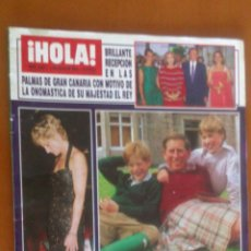 Coleccionismo de Revista Hola: HOLA Nº 2604 07/07/1994*GINA LOLLOBRIGIDA*PEPA FLORES*ROCIO JURADO*EMILIO ARAGON*. Lote 43082236