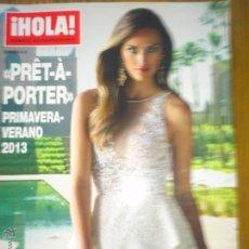 Coleccionismo de Revista Hola: HOLA EXTRA PRET A PORTER PRIMV. VERANO 2013 HELEN LINDES EXCELENTE DISEÑADORES 1ª LINEA. Lote 43149597