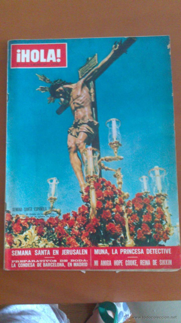 HOLA Nº 1177 *18/03/1967*BRIGITTE BARDOT*SHIRLEY MCLAINE*MICHELE MORGAN*HOPE COOKE* (Coleccionismo - Revistas y Periódicos Modernos (a partir de 1.940) - Revista Hola)